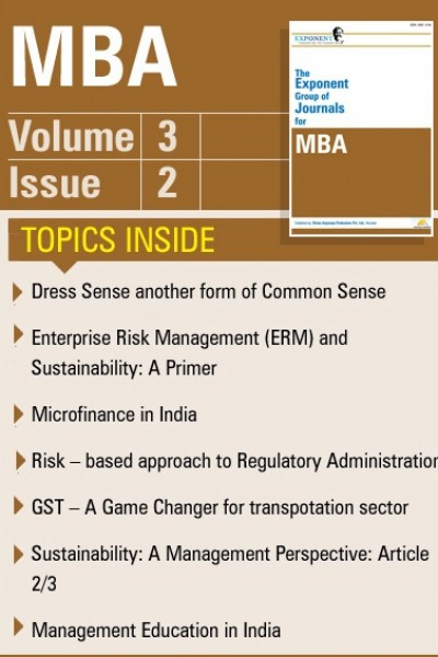 MBA – Volume 3 – Issue 2