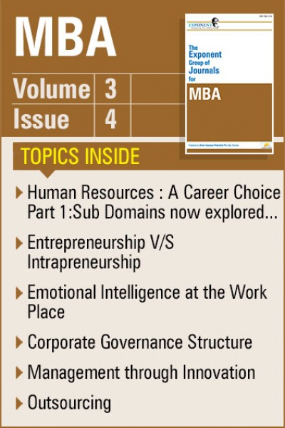 MBA – Volume 3 – Issue 4